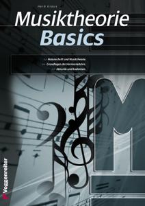 Musiktheorie Basics Buch-Cover