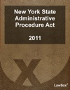 New York State Administrative Procedure Act 2011