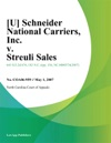Schneider National Carriers