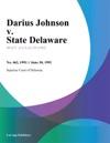 Darius Johnson V State Delaware