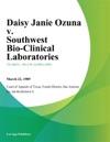 Daisy Janie Ozuna V Southwest Bio-Clinical Laboratories