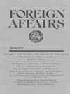 Foreign Affairs - Spring 1979
