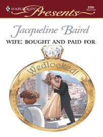 WIFE: BOUGHT AND PAID FOR