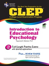 CLEP Introduction to Educational Psychology (REA) - The Best Test Preparation