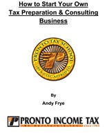 How to Start Your Own Tax Preparation & Consulting Business