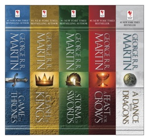 The A Song of Ice and Fire Series Book Cover