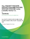 Nos 93-1877 93-1878 93-1879 93-1880 93-1881 93-2209 93-2300 Aetna Casualty Surety Co V Autobody