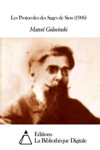 Les Protocoles des Sages de Sion (1906) La couverture du livre martien