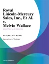 Royal Lincoln-Mercury Sales