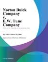 Norton Buick Company V EW Tune Company