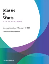 Massie V. Watts