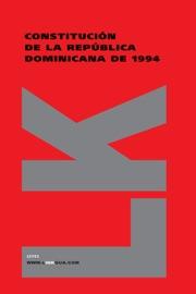 Constituci N De La Rep Blica Dominicana De 1994