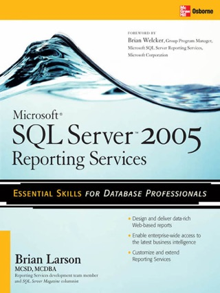 Microsoft SQL Server 2016 Reporting Services, Fifth Edition on Apple