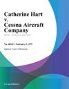 Catherine Hart V Cessna Aircraft Company