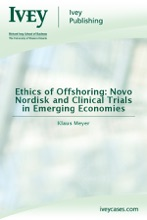 Ethics Of Offshoring: Novo Nordisk And Clinical Trials In Emerging Economies