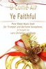 O Come All Ye Faithful Pure Sheet Music Duet For Trumpet And Baritone Saxophone, Arranged By Lars Christian Lundholm