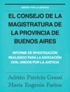El Consejo De La Magistratura De La Provincia De Buenos Aires