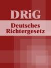 Deutsches Richtergesetz - DRiG