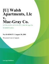 Walsh Apartments
