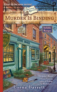 Murder Is Binding Book Cover