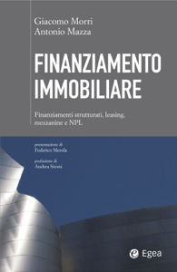 Finanziamento immobiliare Libro Cover