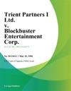 Trient Partners I Ltd V Blockbuster Entertainment Corp