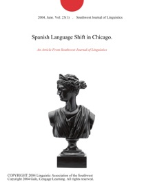 Spanish Language Shift In Chicago