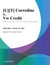 Corredine V Vw Credit