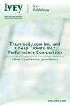 Travelocitycom Inc And Cheap Tickets Inc Performance Comparison
