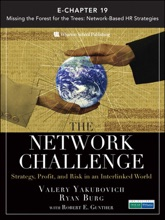 The Network Challenge (Chapter 19): Missing The Forest For The Trees: Network-Based HR Strategies