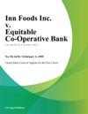 Inn Foods Inc V Equitable Co-Operative Bank
