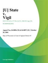 [U] State V. Vigil