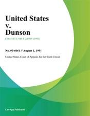 Download United States V. Dunson