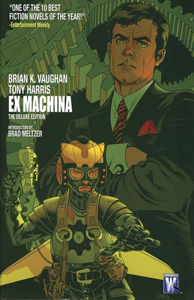 Ex Machina Book One Copertina del libro