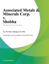 Associated Metals  Minerals Corp V Shobha