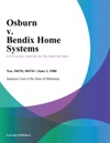 Osburn V Bendix Home Systems