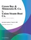 Green Bay  Minnesota R Co V Union Steam-Boat Co