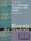 A Study Guide For O E Rolvaags Giants In The Earth