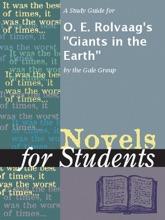 A Study Guide For O. E. Rolvaag's