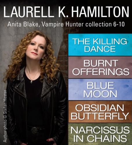 Laurell K. Hamilton - Laurell K. Hamilton's Anita Blake, Vampire Hunter collection 6-10