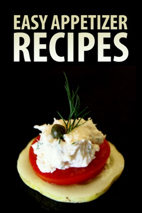 Easy Appetizer Recipes book cover
