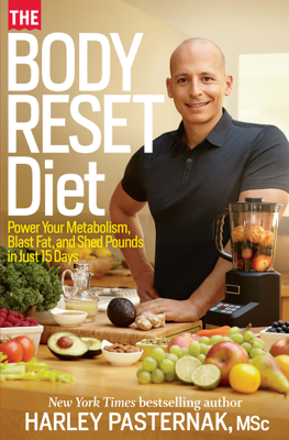 The Body Reset Diet - Harley Pasternak book