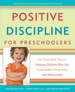 Positive Discipline for Preschoolers Book Cover