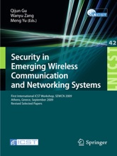 Security In Emerging Wireless Communication And Networking Systems