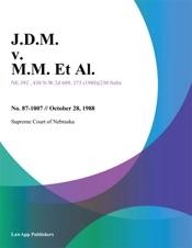 Download and Read Online J.D.M. v. M.M. Et Al.