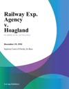 Railway Exp Agency V Hoagland