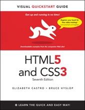 HTML5 & CSS3 Visual QuickStart Guide, 7/e