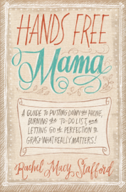 Hands Free Mama book