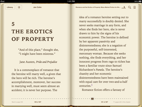 Romance and the Erotics of Property by Jan Cohn on Apple Books