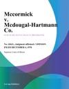 Mccormick V Mcdougal-Hartmann Co